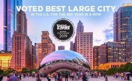 Zum dritten Mal in Folge: Chicago zur attraktivsten Großstadt der USA gewählt