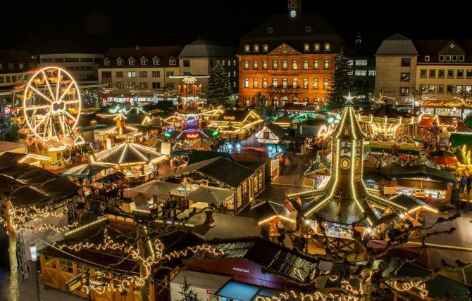 Schönste Weihnachtsmärkte Hessen