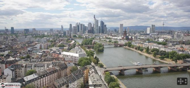 Webcam Frankfurt Main