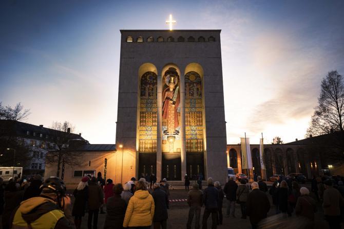 Renovación de la Frauenfriedenskirche